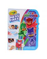 Crayola Colour Wonder PJ Masks Colouring Book and Markers