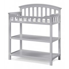 Graco Baby Changing Table Pebble Gray