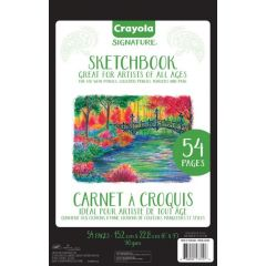 "Crayola Signature Sketchbook 6""x9"""