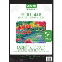 "Crayola Signature Sketchbook 9""x12"""