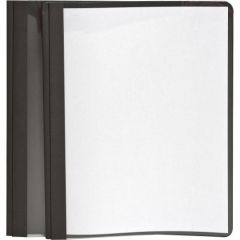Oxford Clear Front Report Cover Black