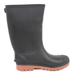 Rubber Rain Boot Black