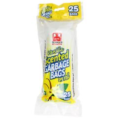 Tuff Guy Vanilla Scent Garbage Bags On Roll 20 X 22 Inch 25 Pk