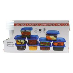 Reusable Containers Set 20Pc