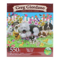 Greg Giordano Collection Shaggy And Friends 550 Piece Puzzle