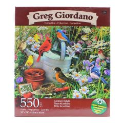Greg Giordano Collection Gardener's Delight 550 Piece Puzzle