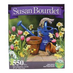 Susan Bourdet 500 Piece Puzzle Watering Can