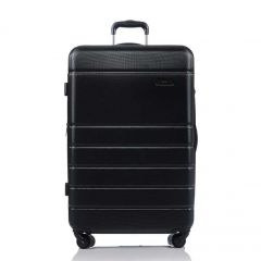 Champs Journey Collection 28in Hard Side Luggage Black