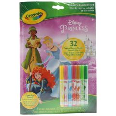 Crayola Disney Princess Coloring & Activity Pad 32 Pages