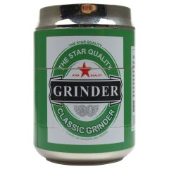 Beer Can Shape Classic Tobacco Herb Grinder