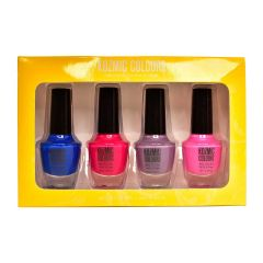 Kozmic Colours Nail Polish Kit 4Pk