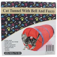 Cat Tunnel with Bell Fuzzy