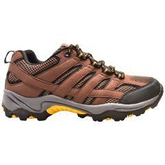 Low Cut Hiking Shoe Brown