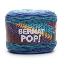 Bernat Pop! Yarn 140g Blue Blaze