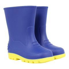 Rubber Rain Boots Blue