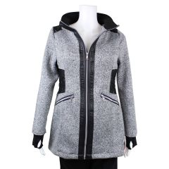 PSG Collection 1958 Bonded Jacket with Hood Grey