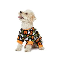 Hotel Doggy Halloween Pajamas Black/Orange