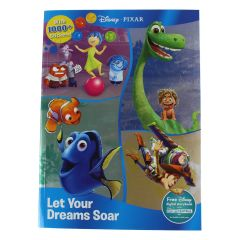 Disney Pixar Let Your Dreams Soar Sticker Play Set