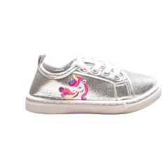 Blue Suede Shoes Girls Unicorn Sneaker