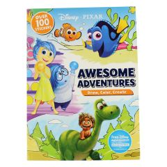 Disney PIXAR Awesome Adventures Color Floor Pad With Stickers