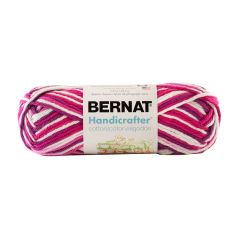 Bernat Handicrafter Cotton Ombre Yarn 40g Love Ombre