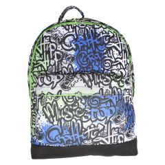 Trailblazer Canvas Backpack Grafitti