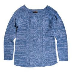 Margie Girls Cable Knit Sweater Size 7-14