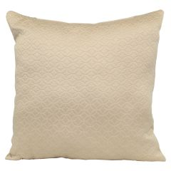 Adele Quilt Cushion Beige 17in