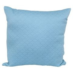 Adele Quilt Cushion Blue 17in