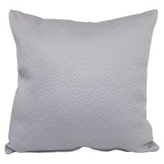 Adele Quilt Cushion Grey 17in