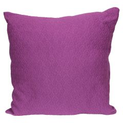 Adele Quilt Cushion Purple 17in