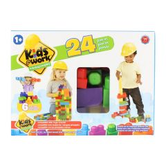 Kids @ Work Building Blocks 24Pc