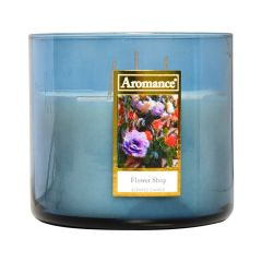 Aromance Flower Shop 12oz Scented Candle