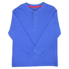 British Invasion Henley Long Sleeve Top