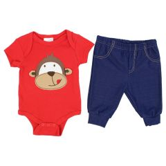 Baby Mode Bodysuit and Pant Set