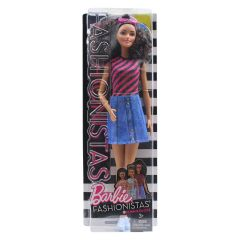 Barbie Fashionistas Doll Denim and Dazzle #55