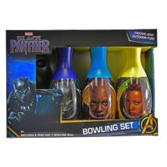 Black Panther Bowling Set