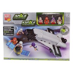 Block Tech Space Heroes Shuttle Explorer Block Set