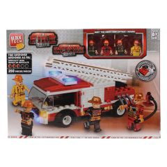 Block Tech Fire Department Fire Response Block Set