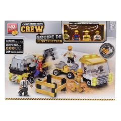 Block Tech Construction Crew City Building Block Set