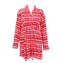 Body Candy Plush 2 Piece Robe And Slipper Set