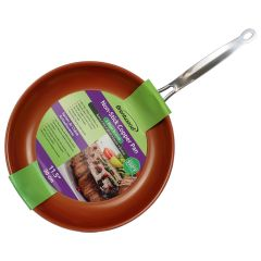 Brentwood 11.5 Inch Non-Stick Copper Induction Pan