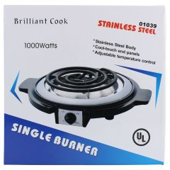 Brilliant Cook Stainless Steel Single Burner