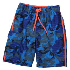 Navy Crew Surf Board Shorts Blue