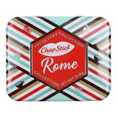 Chapstick Jetsetters Collection Rome 3Pc Tin