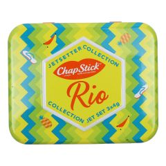 Chapstick Jetsetters Collection Rio 3Pc Tin