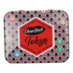 Chapstick Jetsetters Collection Tokyo 3Pc Tin