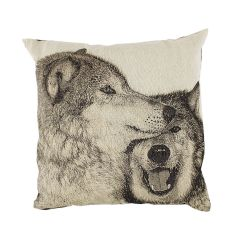 Cotton Concept Animal Cushion Wolves