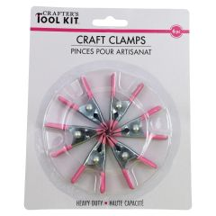 Crafter's Tool Kit Craft Clamps 6Pk