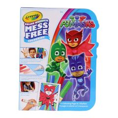 Crayola Color Wonder PJ Masks Colouring Book and Markers